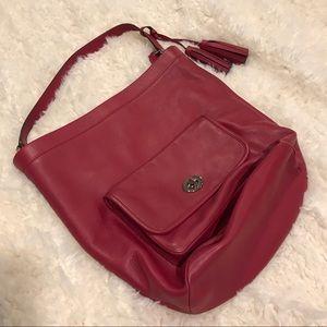 Coach Archival Bucket Bag 21193 in Black Cherry